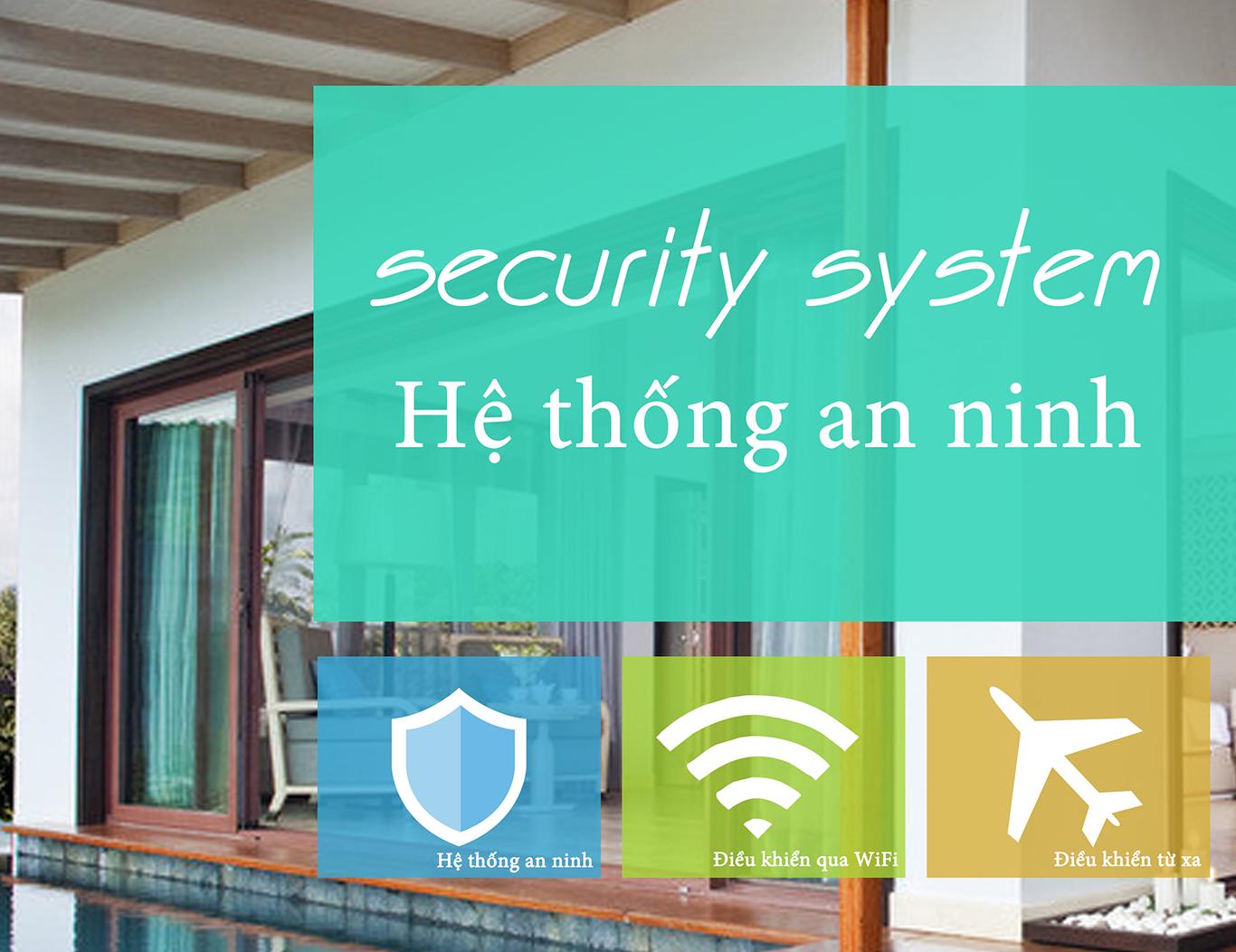 Hệ thống an ninh cho nhà thông minh